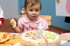 Primer cumpleaños Foto de archivo
