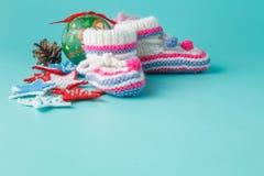 Primer día de año nuevo recién nacido Fotos de archivo libres de regalías