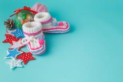 Primer día de año nuevo recién nacido Imagenes de archivo