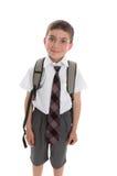 Primer día de escuela Imagenes de archivo