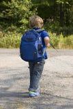 Primer día de escuela Fotografía de archivo