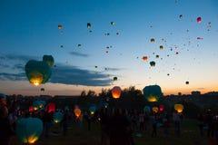 Primer día de festival del verano Fotografía de archivo libre de regalías
