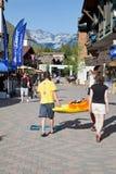 Primer día de los juegos 2011 de la montaña de Teva Foto de archivo libre de regalías
