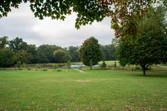 Primer día de otoño foto de archivo