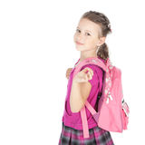 Primer día en la escuela Imagen de archivo