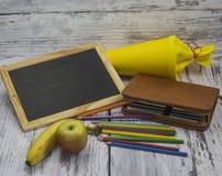 Primer día en la escuela Imagenes de archivo