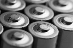 Primer de baterías eléctricas Foto de archivo