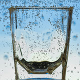 Primer de cristal Foto de archivo