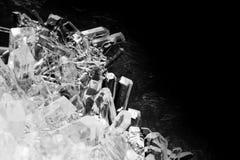Primer de cristales imagenes de archivo