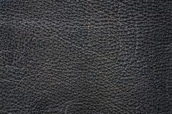 Primer de cuero de la textura Foto de archivo libre de regalías