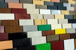 Primer de diversa textura de las tejas foto de archivo