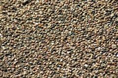 Primer de granos de la arena gruesos Foto de archivo