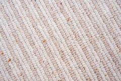 Primer de la alfombra de las lanas del 50% con las rayas. Foto de archivo libre de regalías