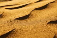 Primer de la arena del desierto Imagen de archivo