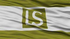 Primer de la bandera de la ciudad de la cumbre de Lees libre illustration