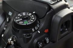 Primer de la cámara digital profesional Fotos de archivo libres de regalías