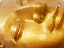 Primer de la cara de Buddha Imagen de archivo libre de regalías