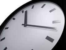 Primer de la cara del reloj Fotografía de archivo
