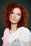 Primer de la cara hermosa de la mujer Imagen de archivo libre de regalías