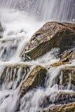 Primer de la cascada fotografía de archivo