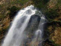 Primer de la cascada del árbol de navidad en el barranco de Sumidero Fotografía de archivo libre de regalías