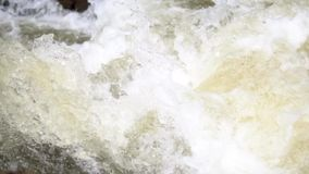 Primer de la cascada en Vietnam a cámara lenta almacen de metraje de vídeo