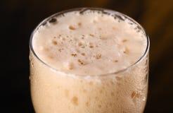 Primer de la cerveza oscura Imagen de archivo libre de regalías