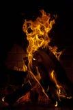 Primer de la chimenea Foto de archivo libre de regalías