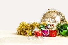 Primer de la decoración de la Navidad Fotos de archivo libres de regalías