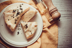 Primer de la empanada del queso imagenes de archivo