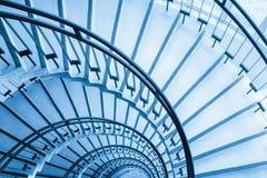 Primer de la escalera espiral Fotos de archivo