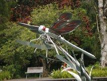 Primer de la estatua de la luciérnaga Imágenes de archivo libres de regalías