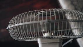 Primer de la fan El propulsor gira almacen de metraje de vídeo
