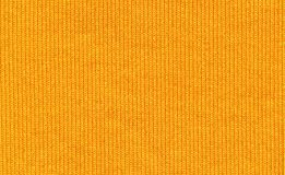 Primer de la fibra syntetic amarilla Imágenes de archivo libres de regalías