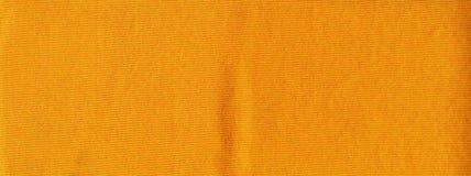 Primer de la fibra syntetic amarilla Fotografía de archivo libre de regalías