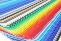 Primer de la guía del color Imágenes de archivo libres de regalías