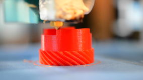Primer de la impresora de la impresión 3D metrajes