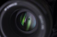Primer de la lente de cámara Imagen de archivo libre de regalías