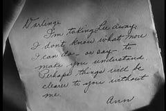 Primer de la letra manuscrita metrajes