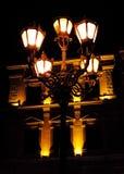 Primer de la linterna de la noche (místico - concepto) Fotografía de archivo libre de regalías