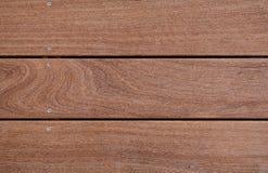 Primer de la madera dura del cumaru Fotografía de archivo libre de regalías