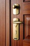 Primer de la maneta de puerta Imagen de archivo libre de regalías