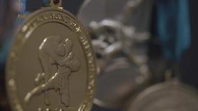 Primer de la medalla de oro Medalla de la lucha metrajes