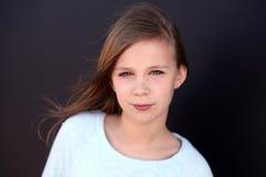 Primer de la muchacha del preadolescente Fotos de archivo libres de regalías