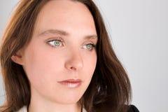 Primer de la mujer hermosa Fotografía de archivo libre de regalías