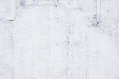 Primer de la pared pintada blanca foto de archivo libre de regalías