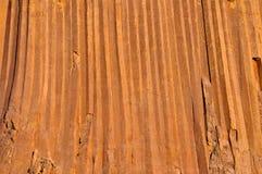 Primer de la piedra del basalto Foto de archivo libre de regalías