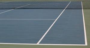 Primer de la pista de tenis foto de archivo libre de regalías