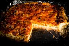 Primer de la pizza Fotografía de archivo