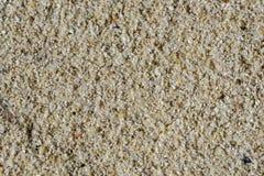 Primer de la playa blanca de la arena Fotografía de archivo libre de regalías